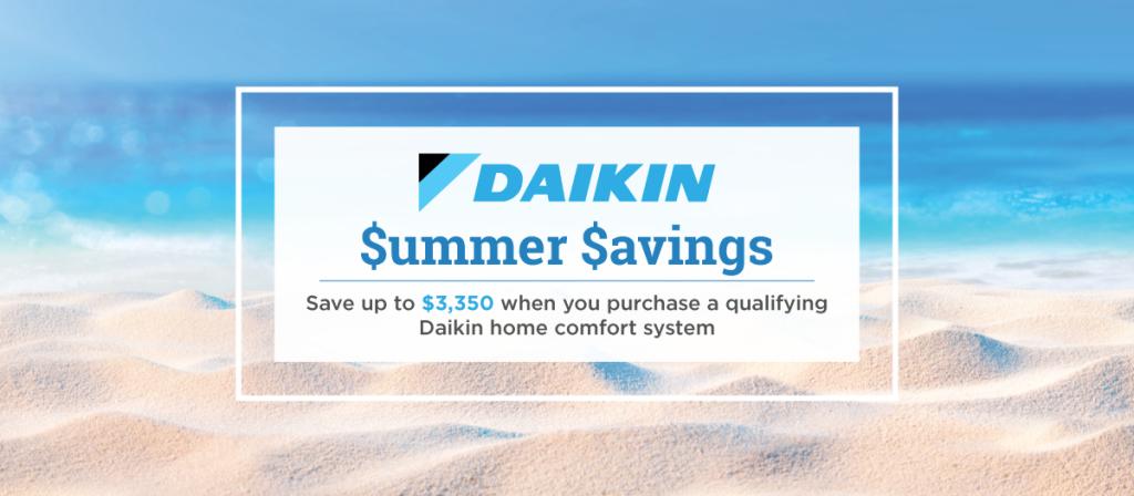Daikin Summer promotion
