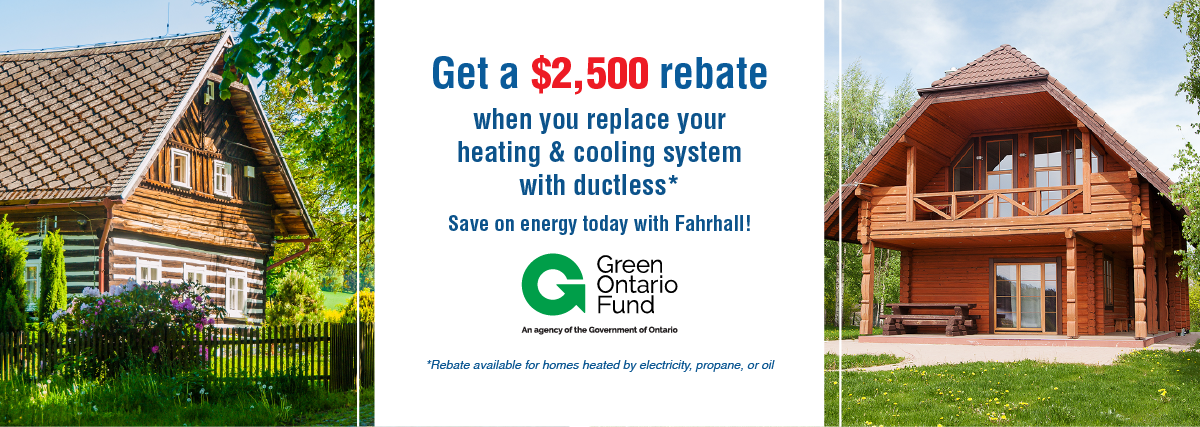 GreenON Rebate Ductless