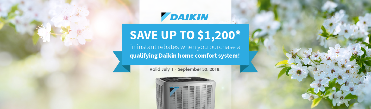 daikin summer promotion windsor chatham-kent