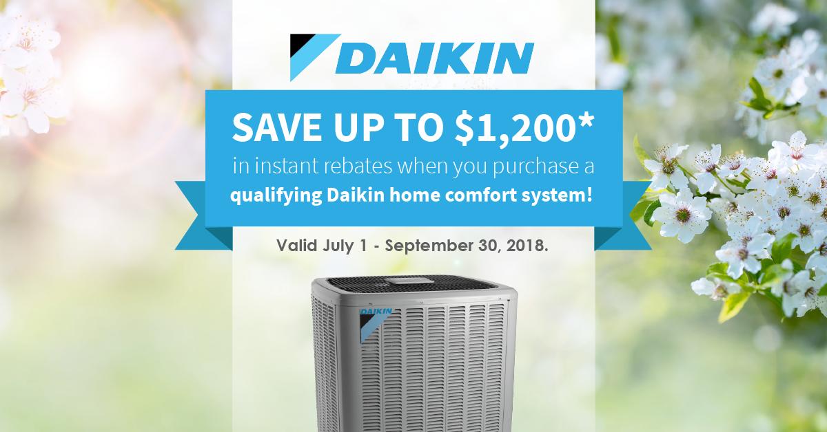 daikin summer promotion windsor essex