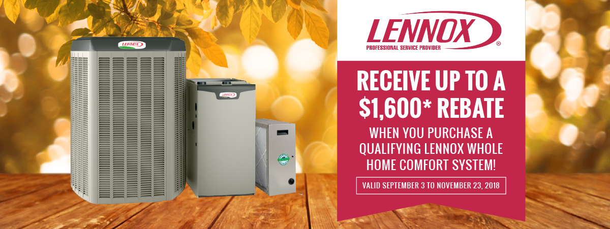 WIndsor - Lennox Air conditioner and furnace fall promotion