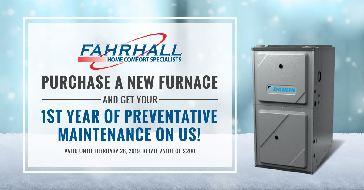 New Furnace Free Quote Preventative Maintenance Windsor