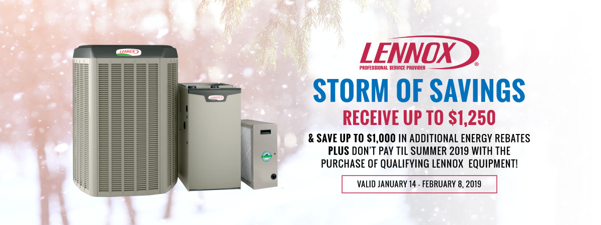 Lennox Winter Promotion Windsor