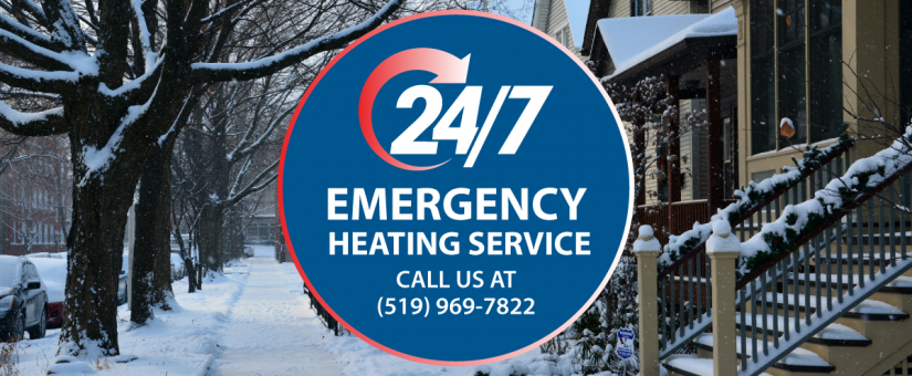 Fahrhall's 24/7 Emergency Heating Service